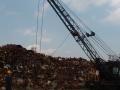 "Gleason Reel ""S"" reel in magnet crane boom"