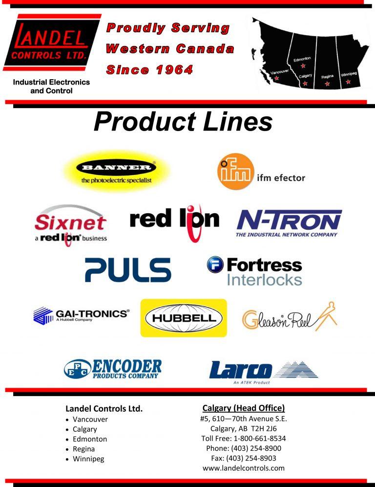 Landel Controls Brochure